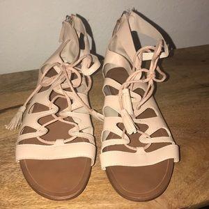 Zara Basic Collection gladiator sandals